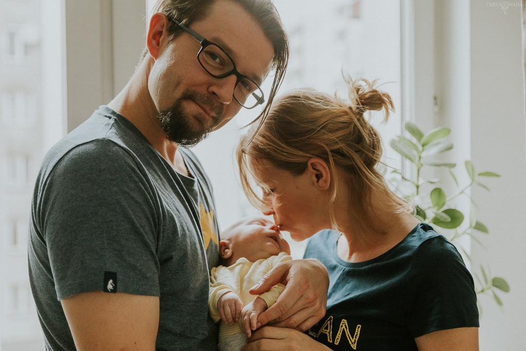 Sesja rodzinna lifestyle Warszawa - ZAPAROWANA