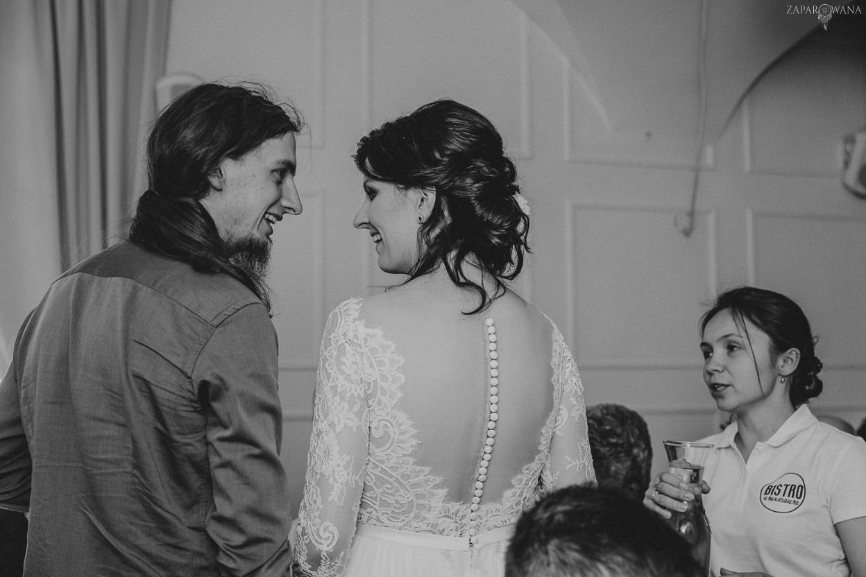 401 - ZAPAROWANA - Kameralny ślub z weselem w Bistro Warszawa