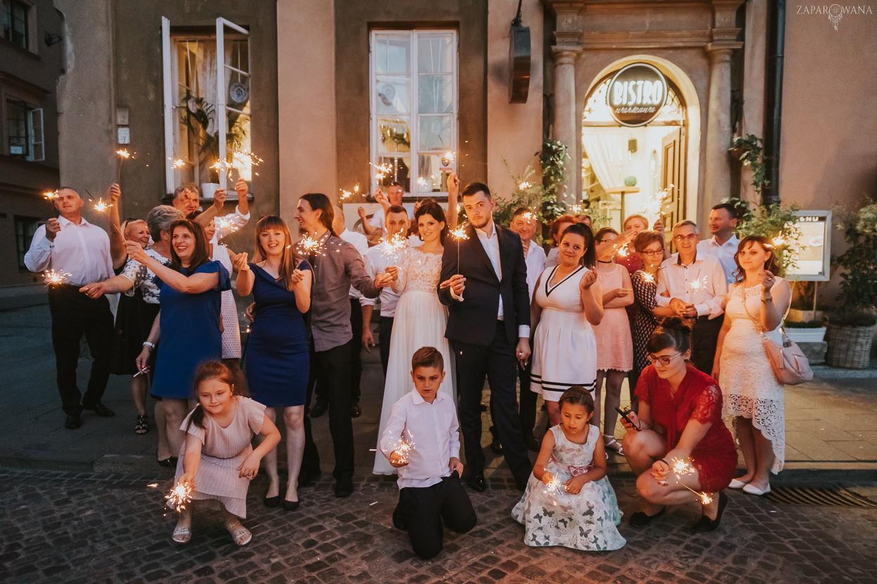 566 - ZAPAROWANA - Kameralny ślub z weselem w Bistro Warszawa
