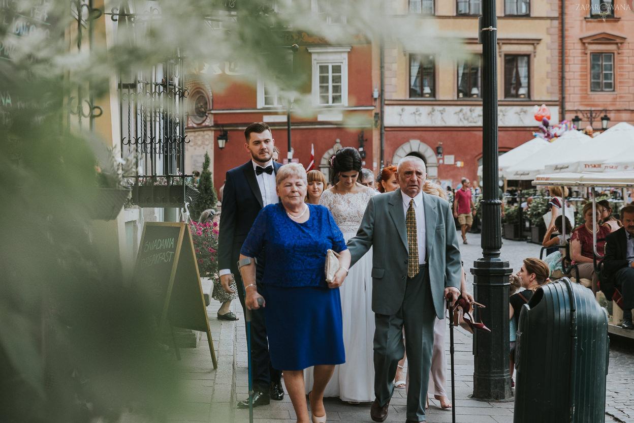 309 - ZAPAROWANA - Kameralny ślub z weselem w Bistro Warszawa