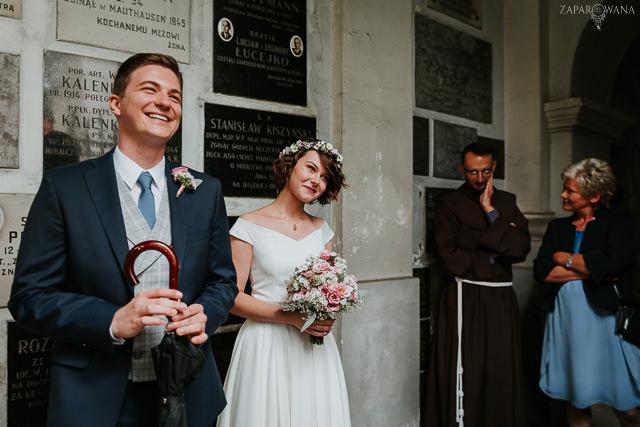001 - Justyna i Konrad - ZAPAROWANA - Fotograf ślubny Warszawa