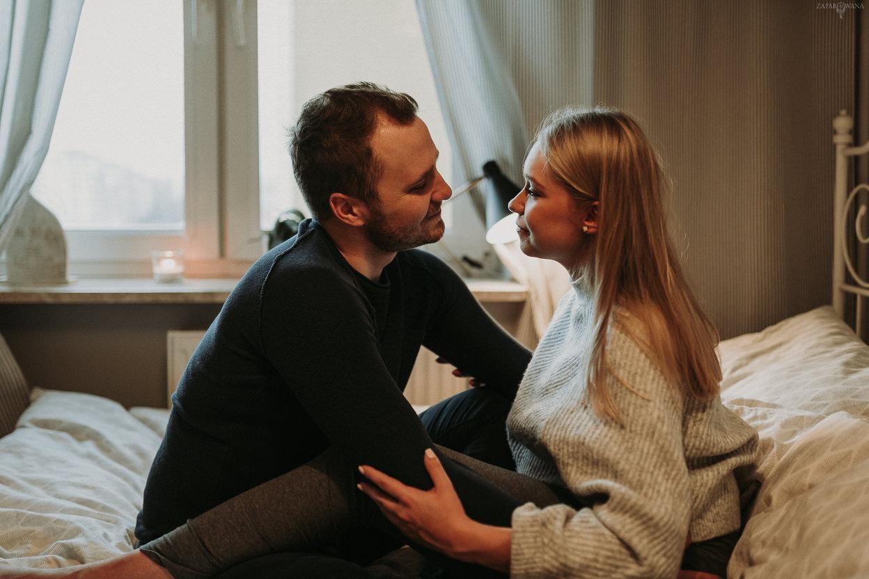 Sesja ciążowa lifestyle'owa Warszawa