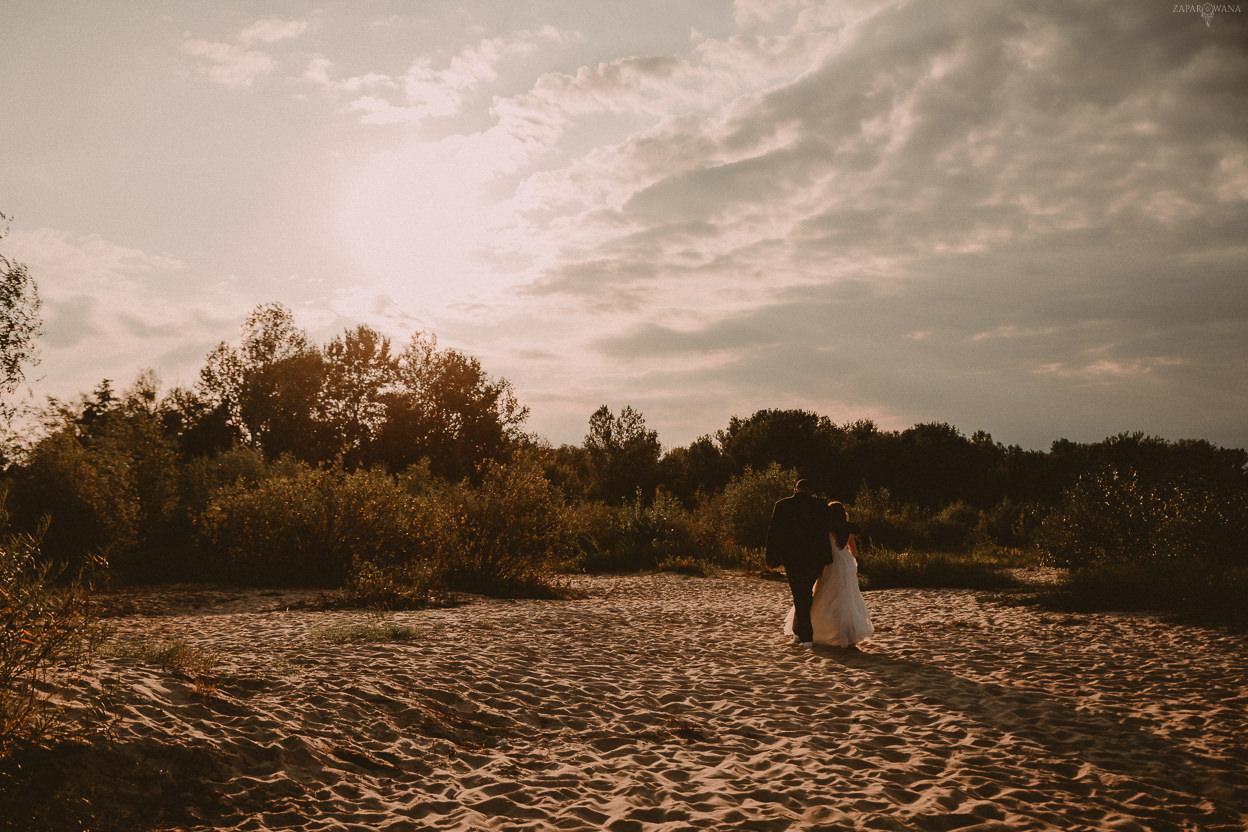 ZAPAROWANA - Fotograf ślubny Warszawa - Sesja ślubna na plaży