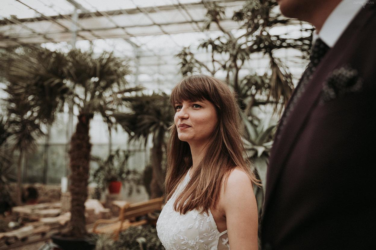 ZAPAROWANA - Fotograf ślubny Warszawa - Sesja w Ogrodzie Botanicznym w Powsinie