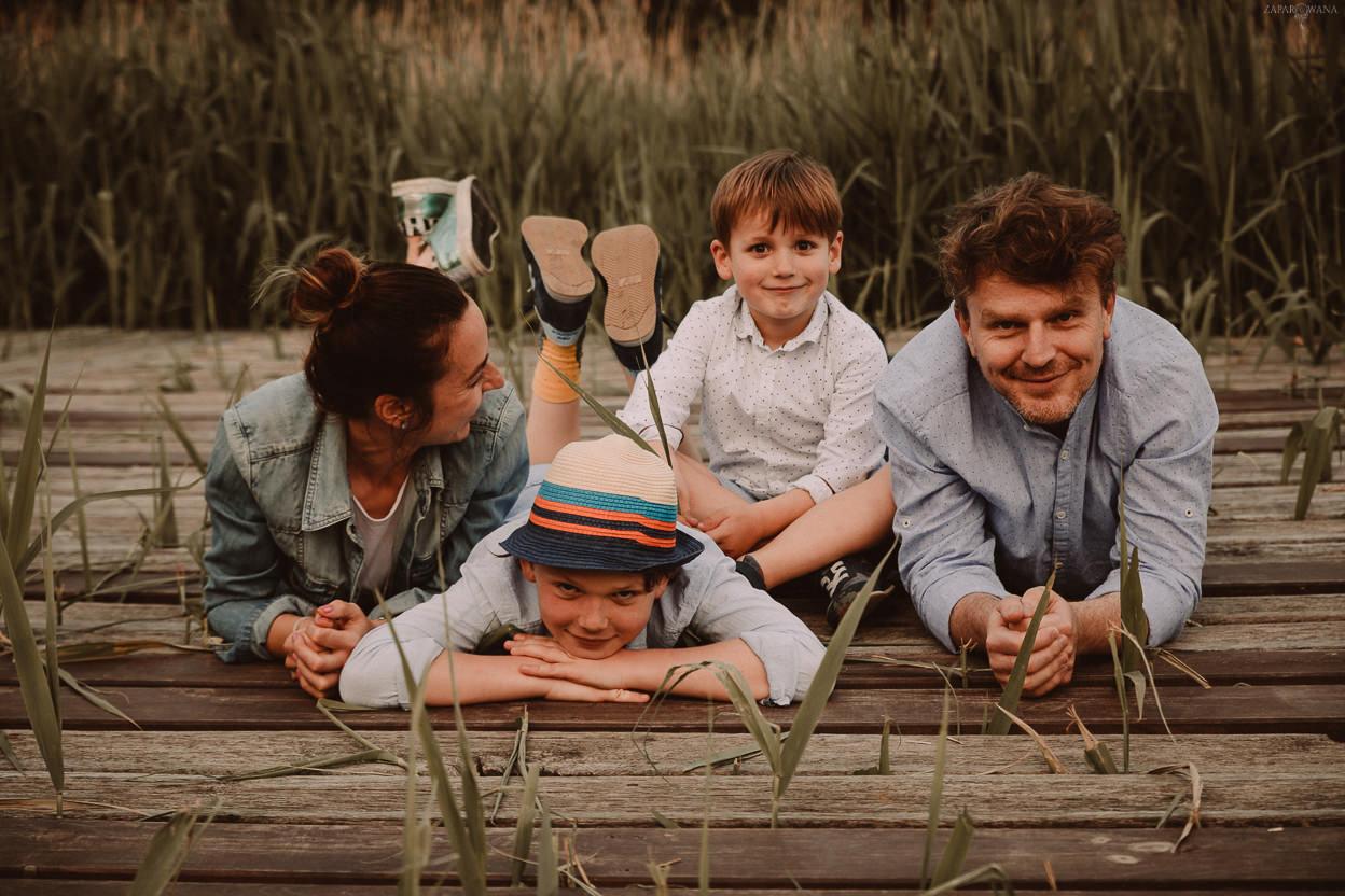 ZAPAROWANA - Fotograf rodzinny Warszawa - Sesja rodzinna w plenerze