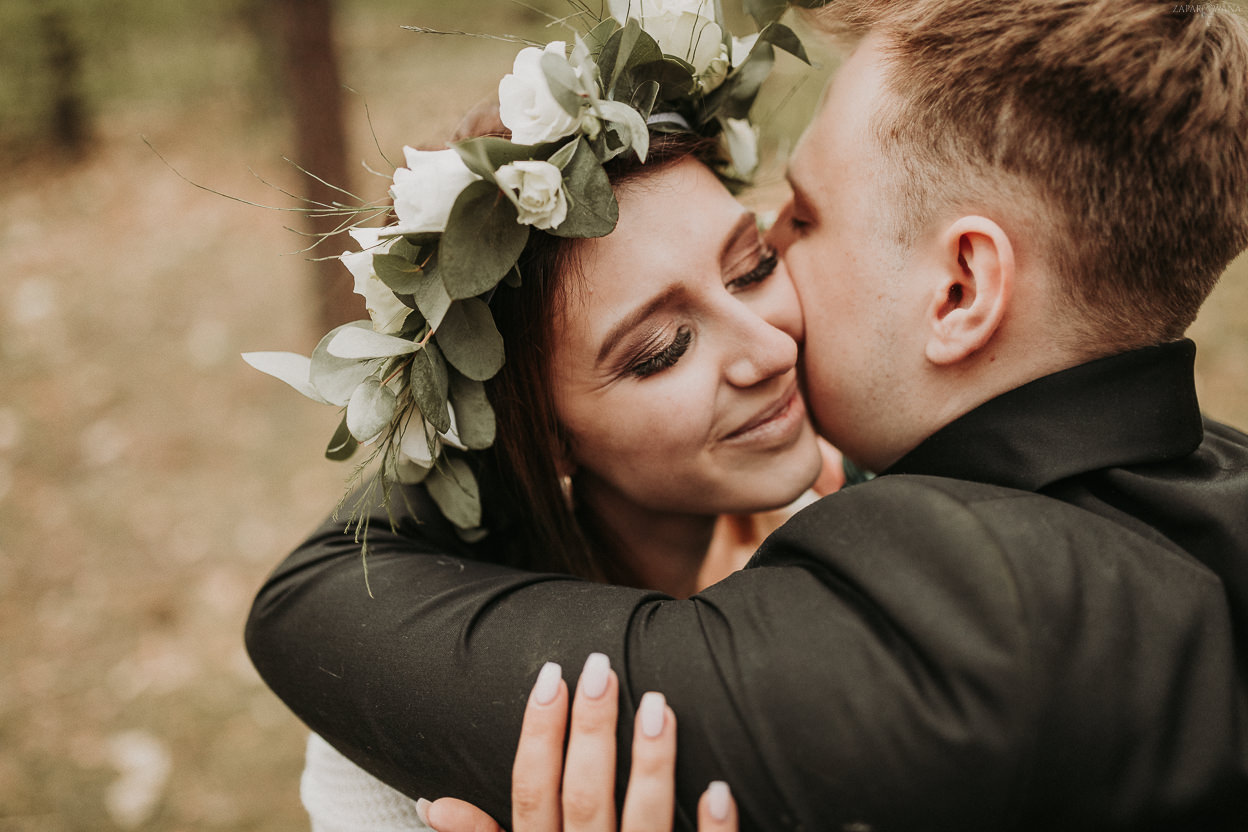 ZAPAROWANA - Ślubna sesja plenerowa - Piła