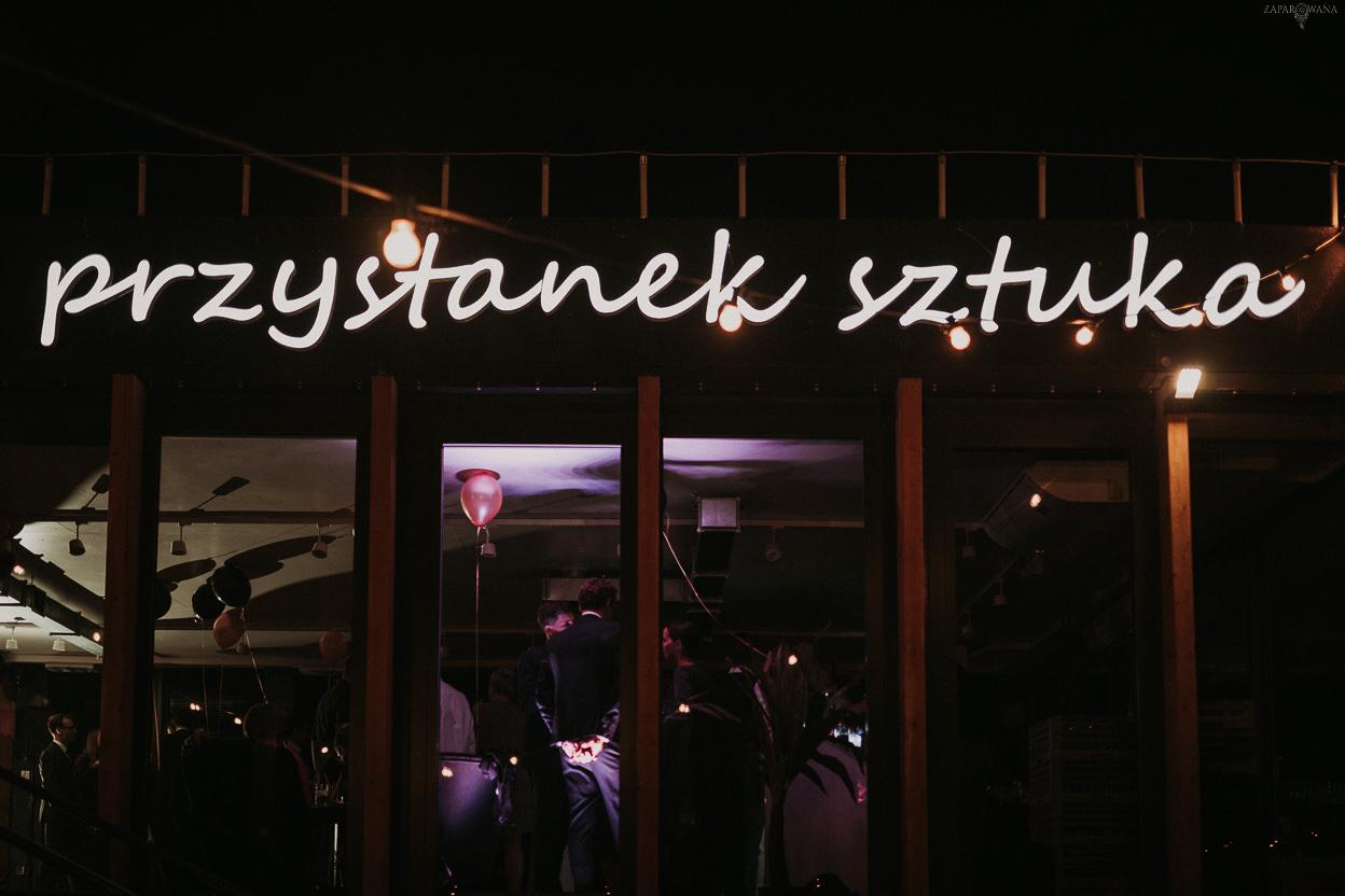 ZAPAROWANA - Fotograf ślubny Warszawa - Nietypowy Ślub Architektów - Wesele Przystanek Sztuki
