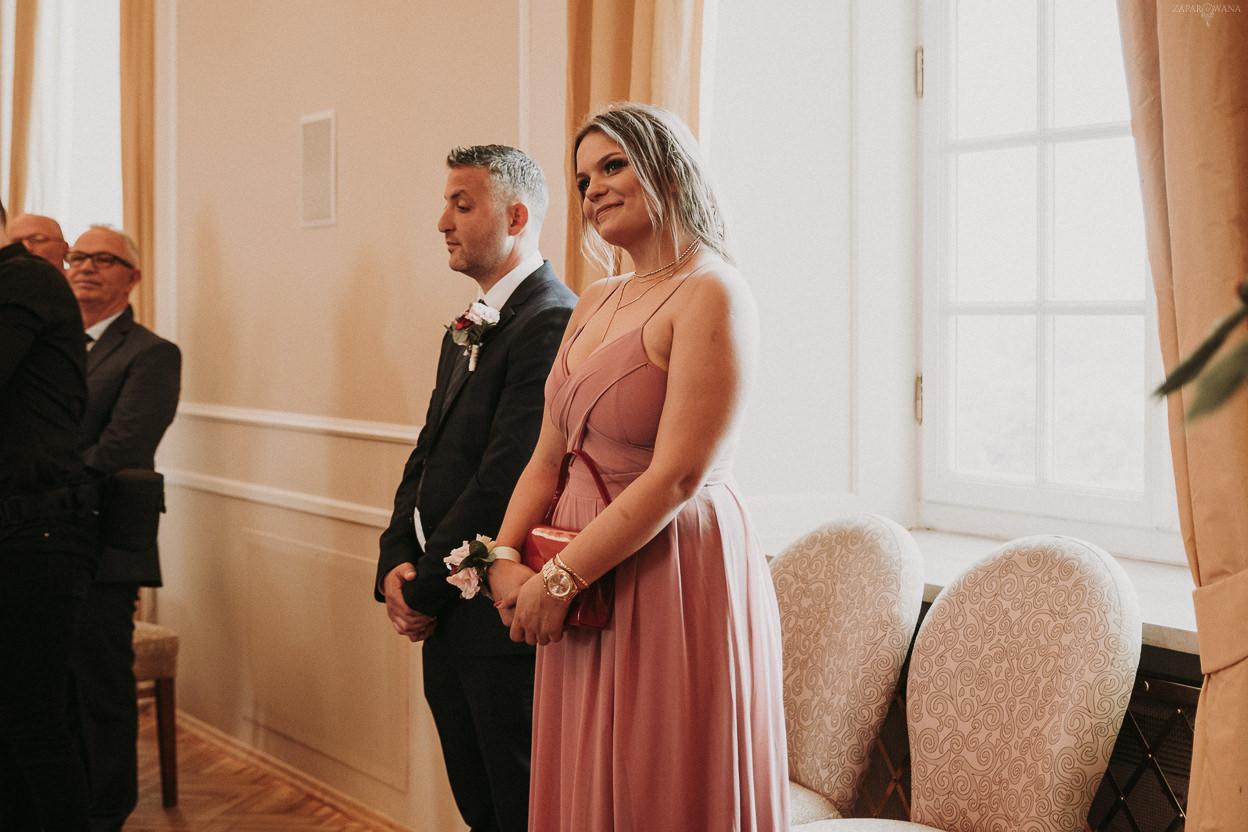 Polsko-albański ślub międzynarodowy - Bistro Warszawa - ZAPAROWANA - Fotografia ślubna