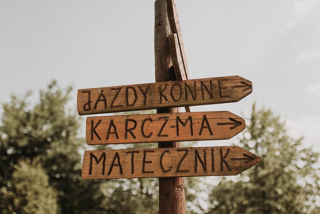 ZAPAROWANA - Fotograf ślubny Warszawa - Ślub w stodole Sielanka nad Pilicą