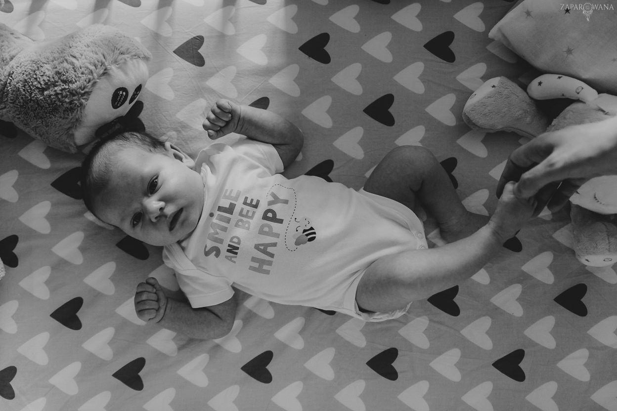 038 - ZAPAROWANA - Lifestyle'owa sesja dziecięca Warszawa - Laura z rodzicami