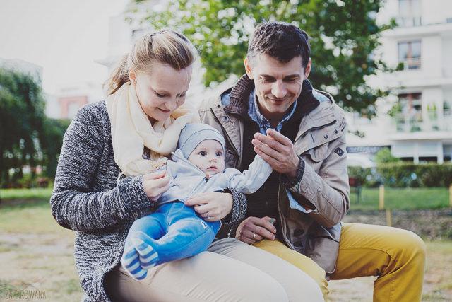 Antoś - Sesja rodzinna - ZAPAROWANA.PL