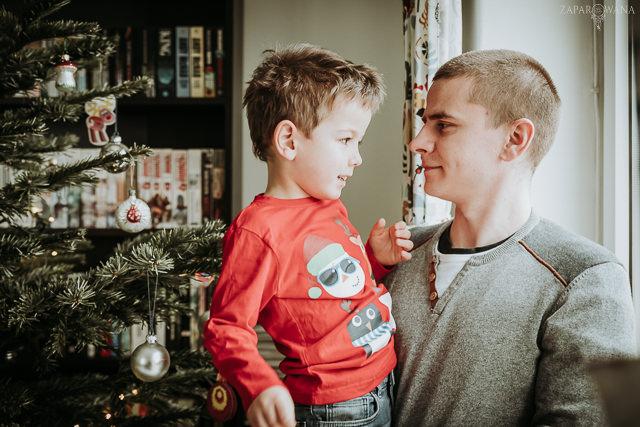 023 - Lifestyle'owa sesja rodzinna świąteczna - AAWM - ZAPAROWANA_