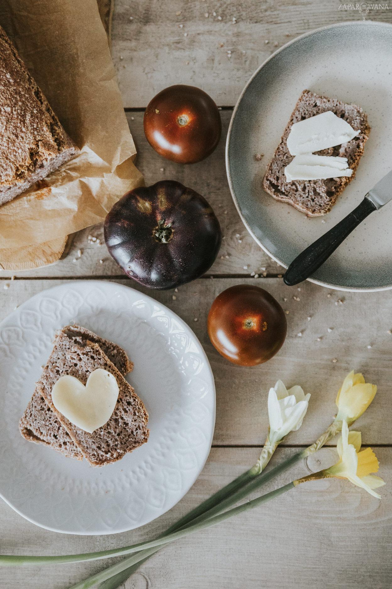 004 - ZAPAROWANA - Bezglutenowy chleb gryczany