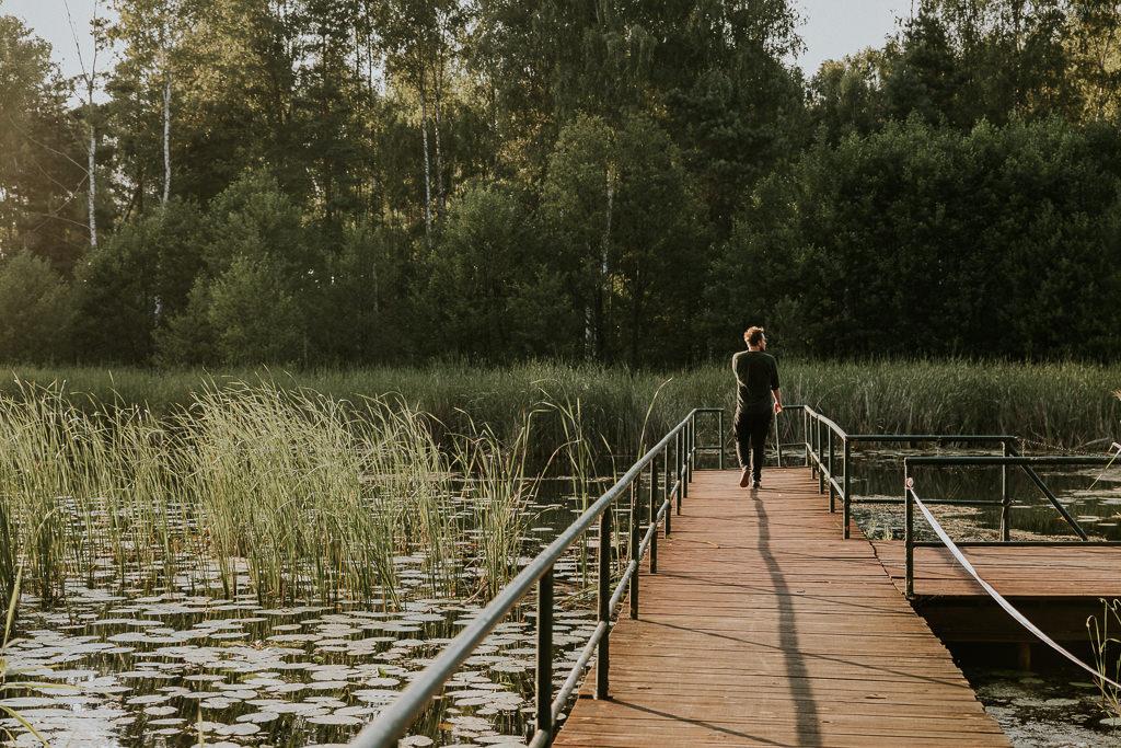 Sesja nad jeziorem - ZAPAROWANA