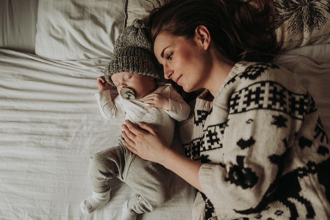 ZAPAROWANA - Fotograf rodzinny - Świąteczna sesja rodzinna - Warszawa