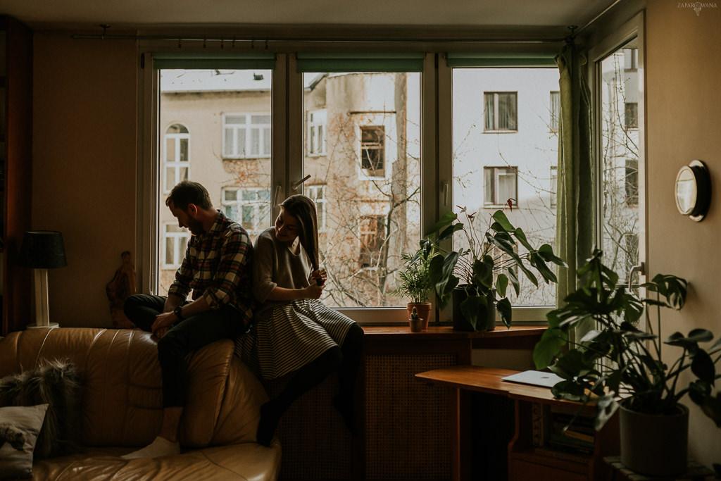 Sesja zakochanych Warszawa - ZAPAROWANA