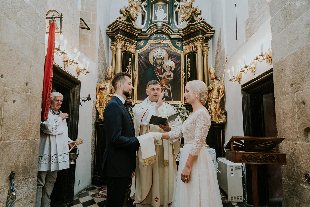 185 - ZAPAROWANA - Kameralny ślub w Krakowie