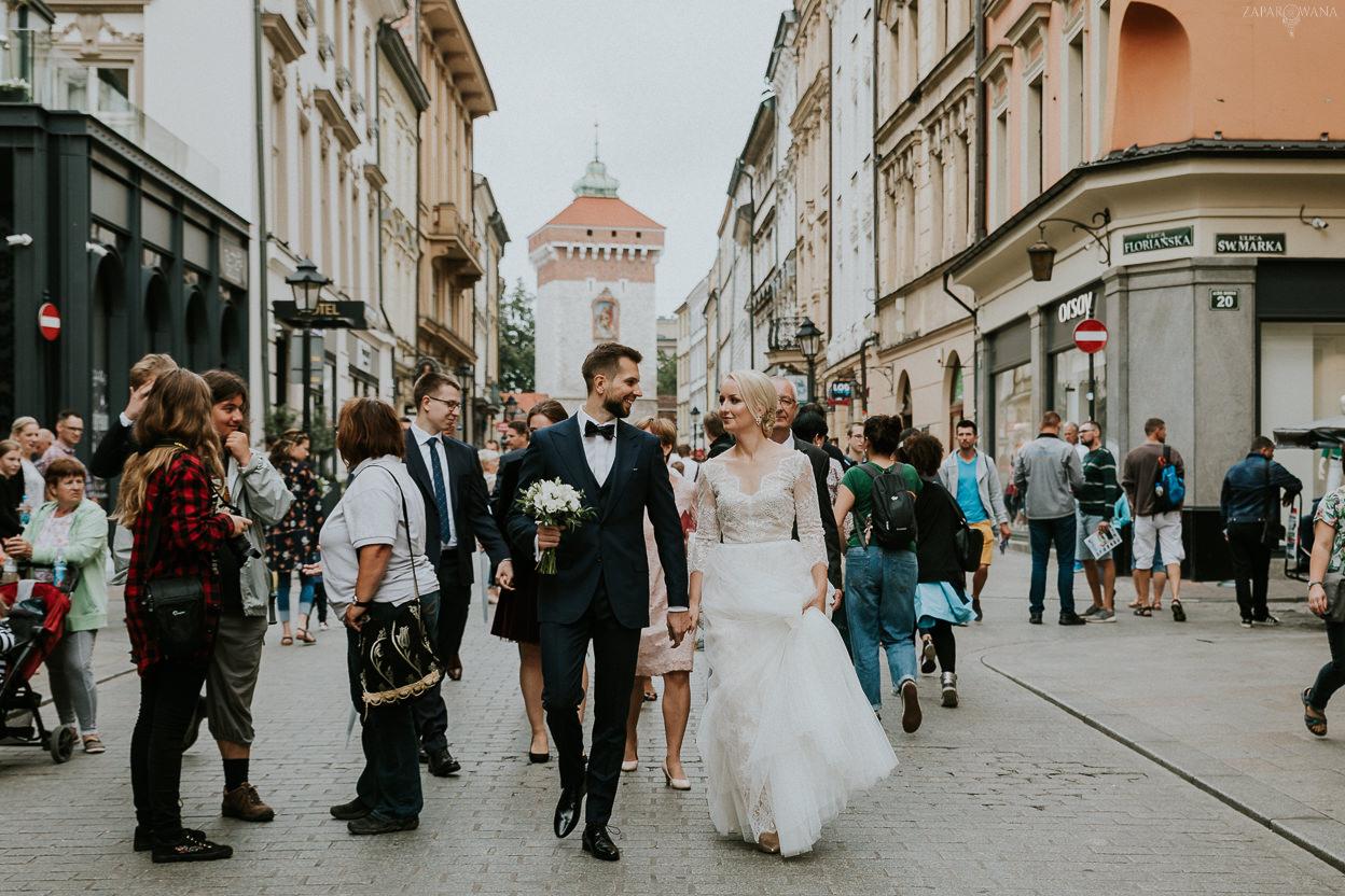 127 - ZAPAROWANA - Kameralny ślub w Krakowie