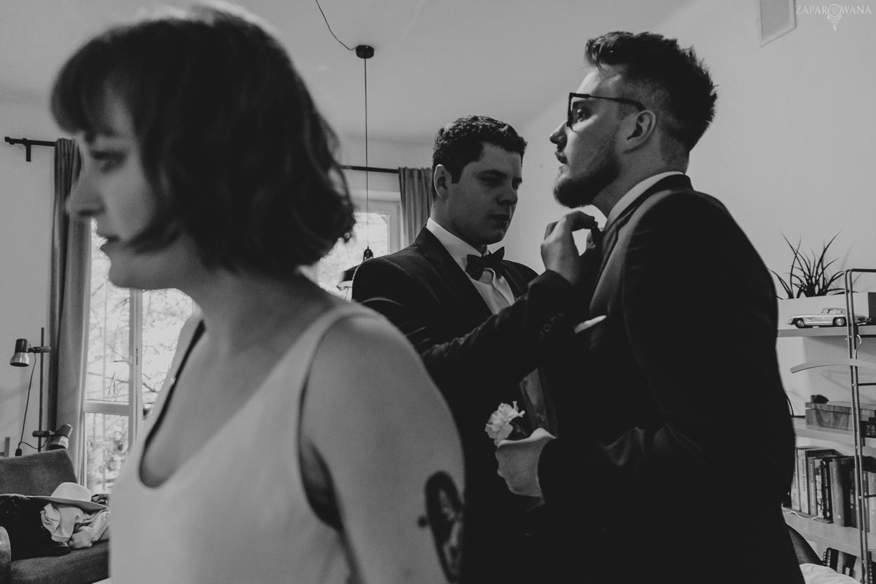 085 - ZAPAROWANA - Reportaż ślubny