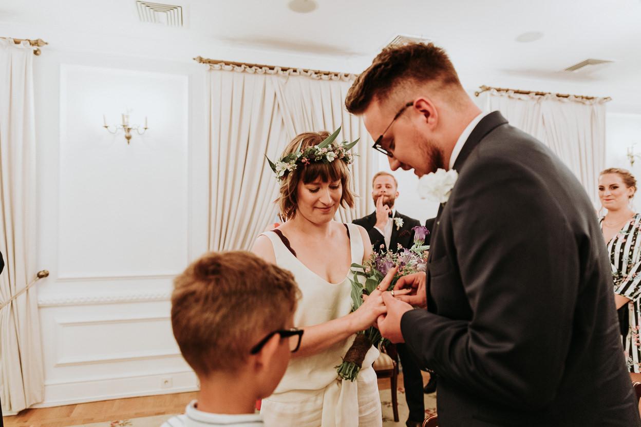 132 - ZAPAROWANA - Reportaż ślubny