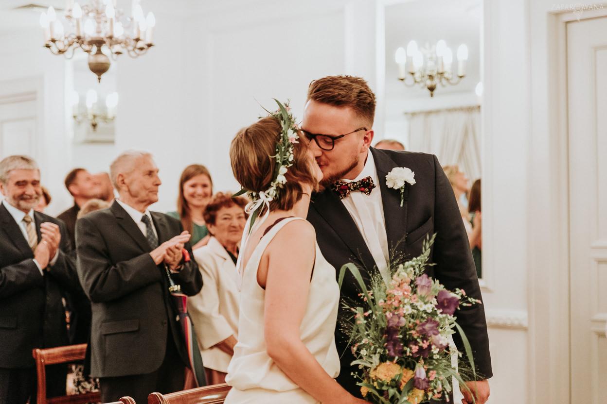 114 - ZAPAROWANA - Reportaż ślubny