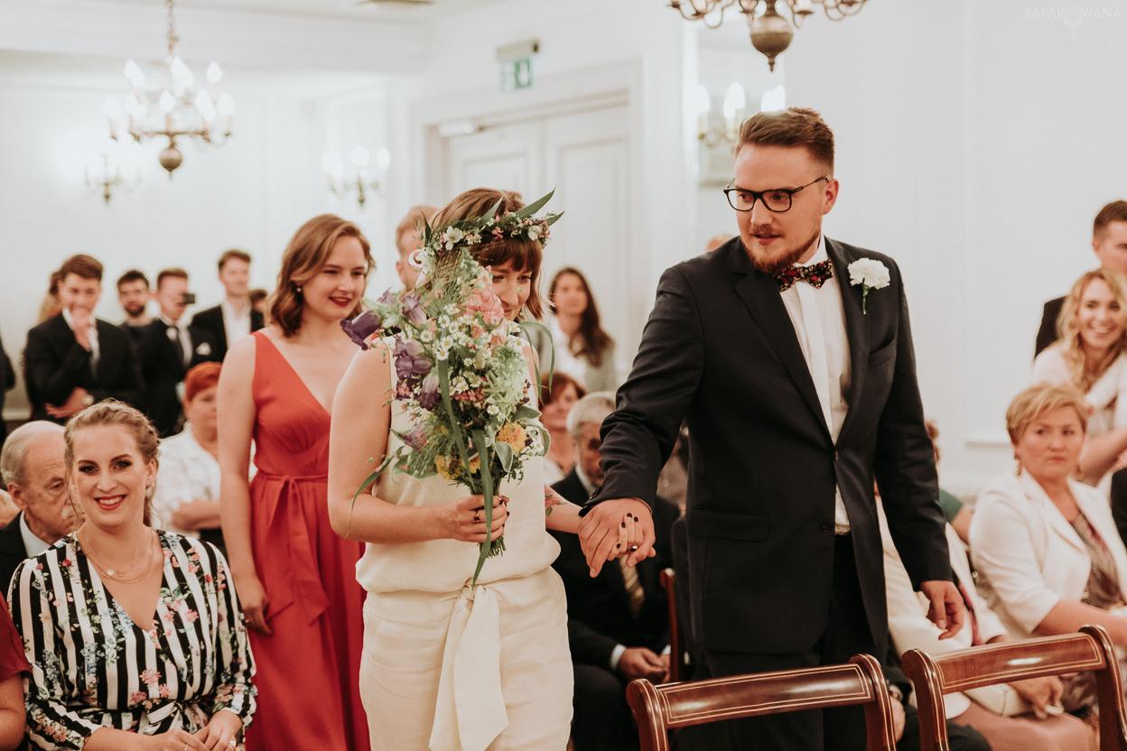 099 - ZAPAROWANA - Reportaż ślubny