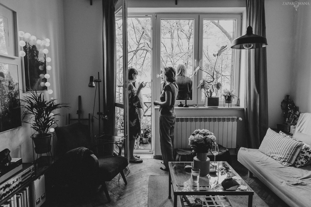 020 - ZAPAROWANA - Reportaż ślubny - Ślub w stylu boho Warszawa