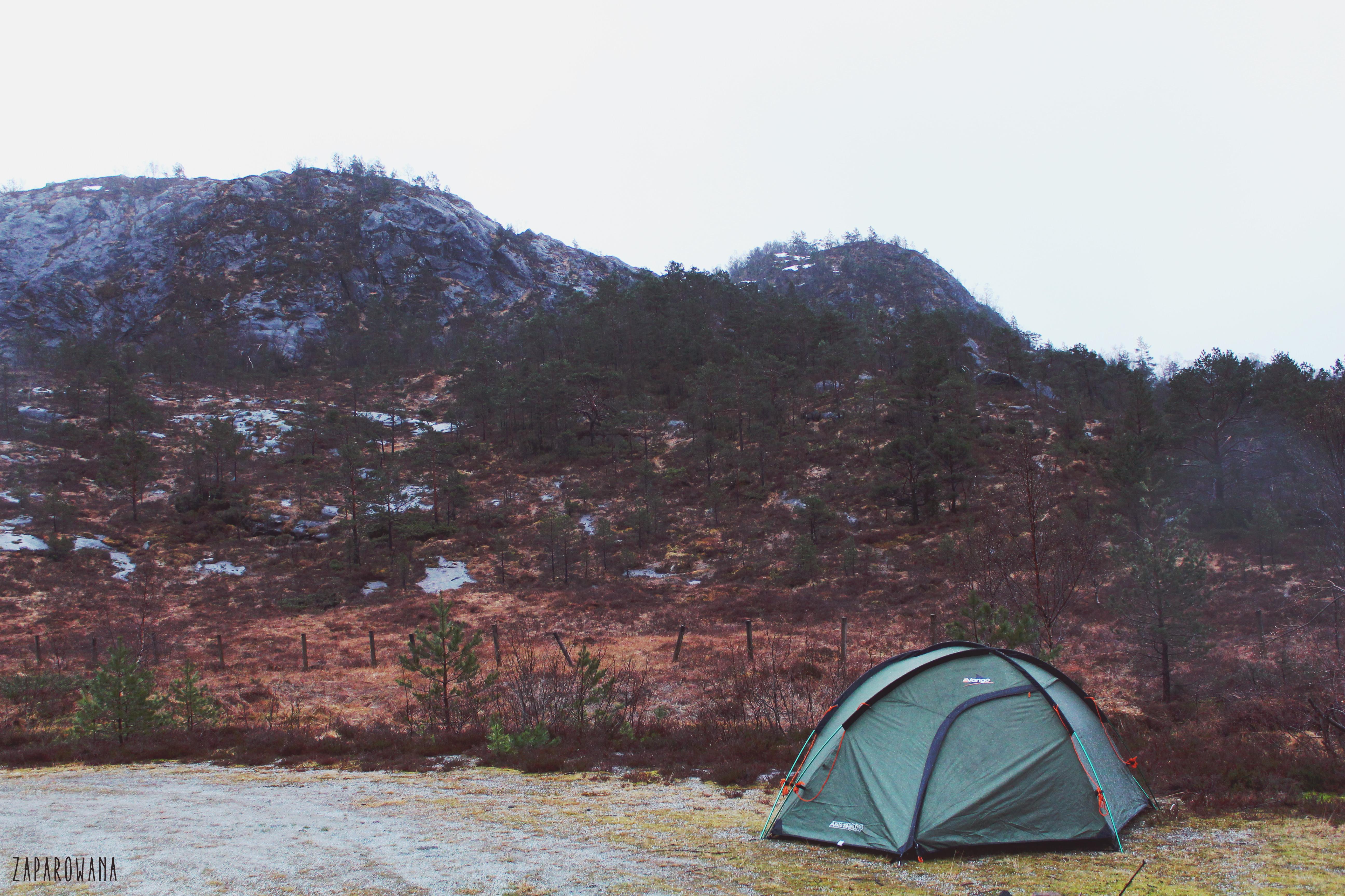 ZAPAROWANA - CAMPING - NORWAY