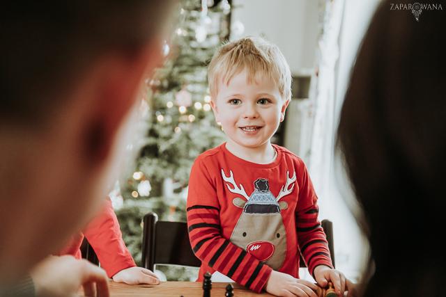 001 - Lifestyle'owa sesja rodzinna świąteczna - ZAPAROWANA