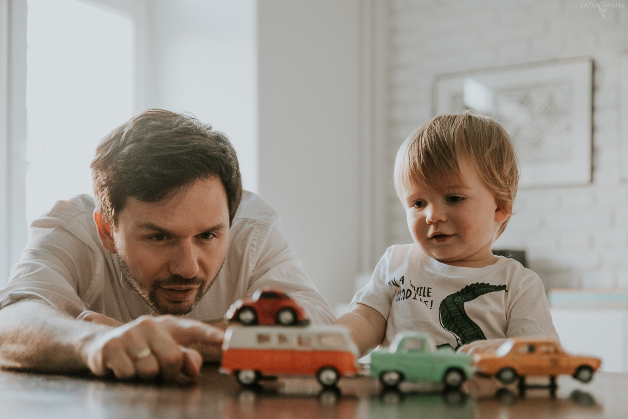 ZAPAROWANA - Sesja rodzinna lifestyle Warszawa