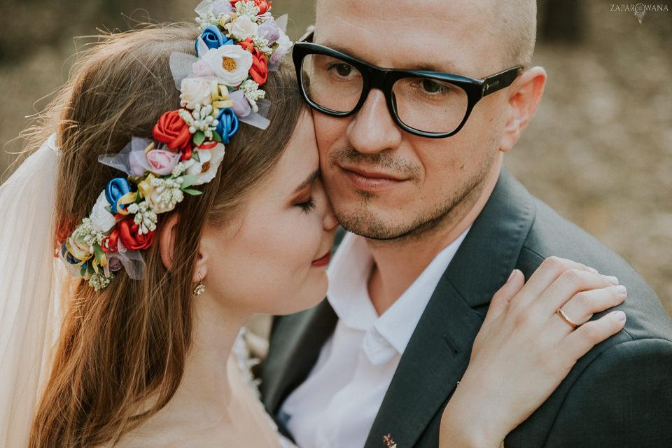 ZAPAROWANA - Sesja plenerowa w dniu ślubu - Warszawa