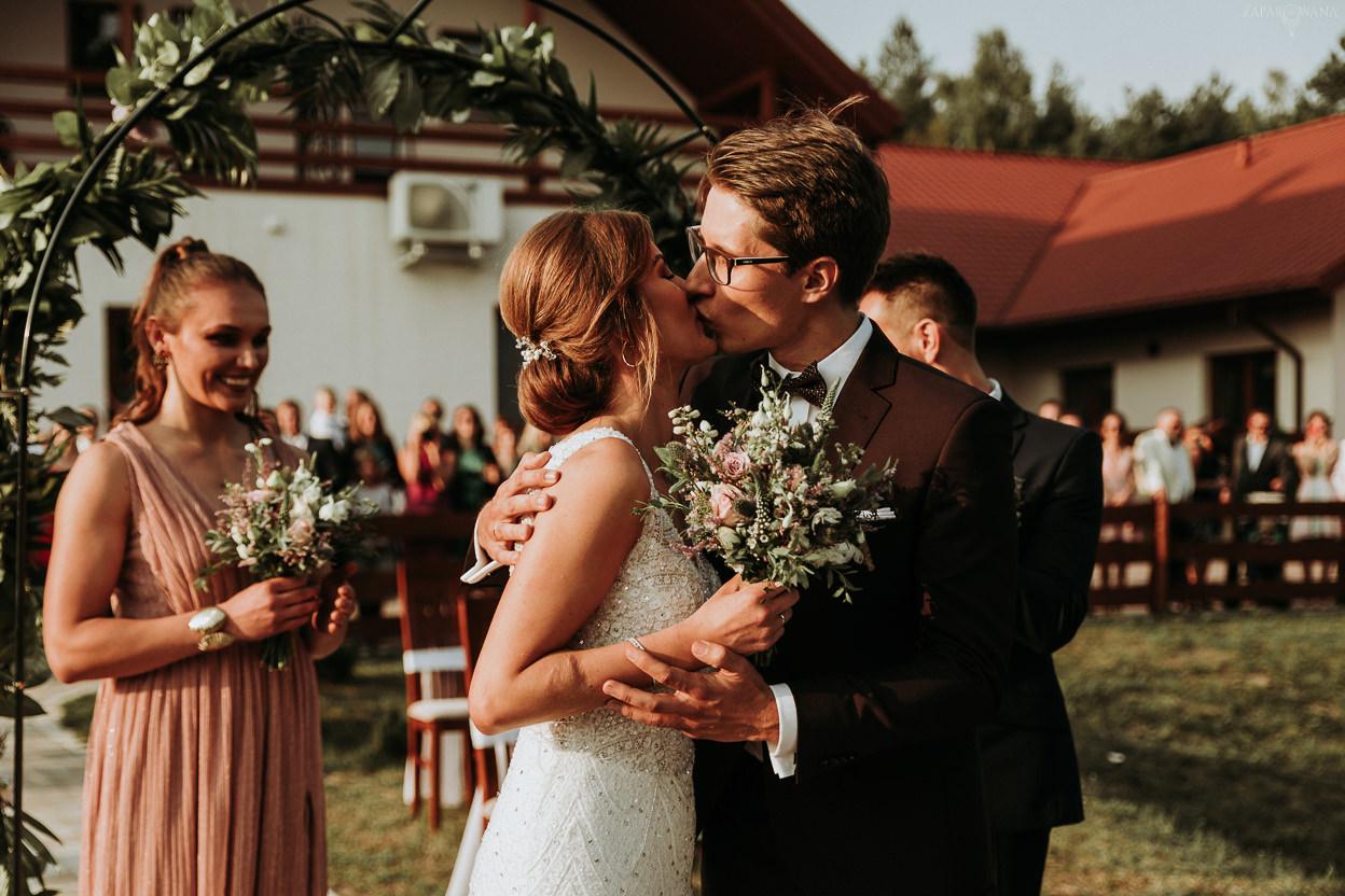 ZAPAROWANA - Reportaż ślubny Świętokrzyskie - Cywilny ślub plenerowy