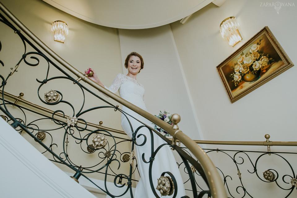 Fotografia ślubna Warszawa - Pałacyk Otrębusy - ZAPAROWANA