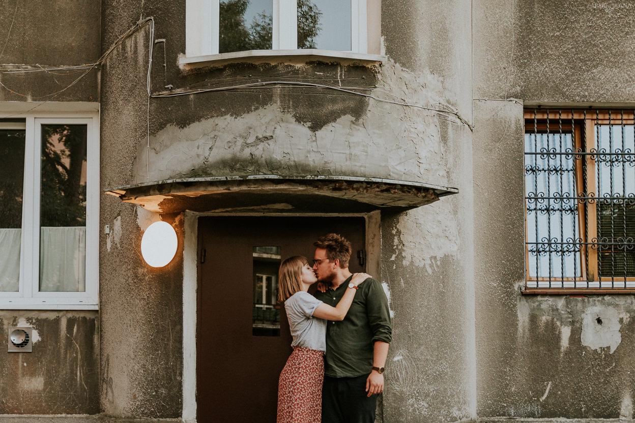 ZAPAROWANA - Sesja ślubna na luzie