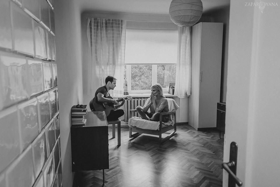 Joanna Kondrat Piotr Krępeć - Sesja muzyczna Warszawa - ZAPAROWANA