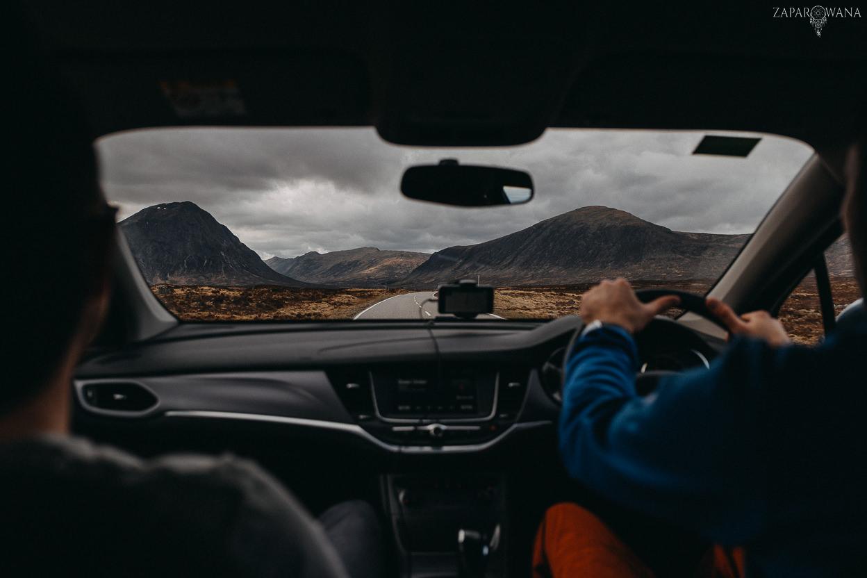 Szkocja - Loch Lomond i okolice - ZAPAROWANA