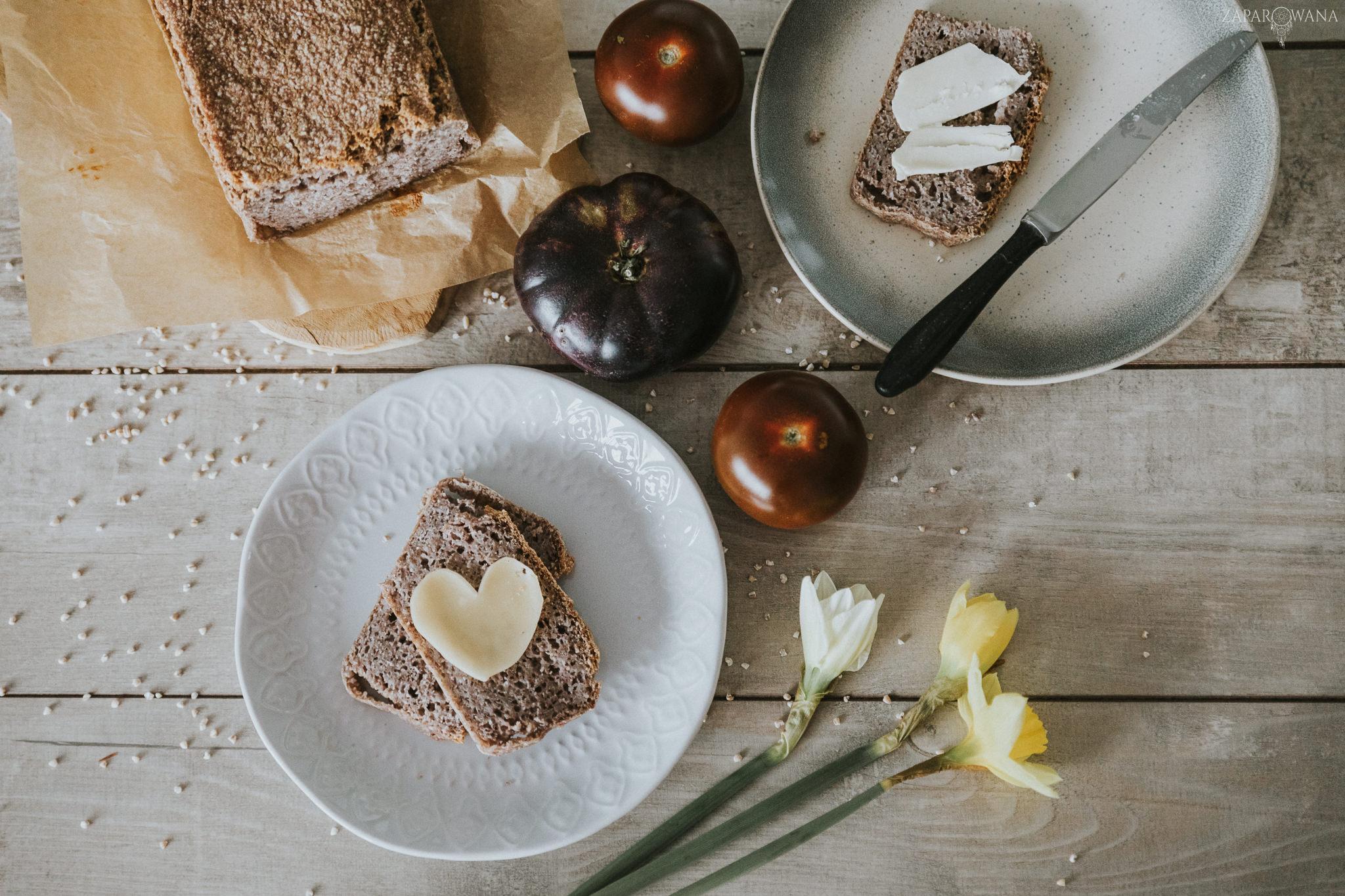 ZAPAROWANA - Fotografia kulinarna - Bezglutenowy chleb gryczany-2