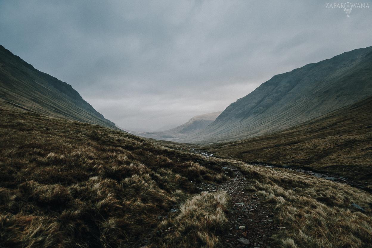Szkocja - Scotland - Szkockie wędrowanie - Podróże - ZAPAROWANA